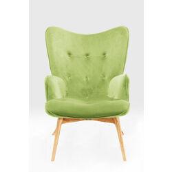 Armchair Vicky Velvet Green