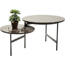 Coffee Table Monocle Dark brown 110x60