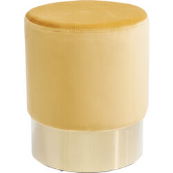 Stool Cherry Orange Brass  Ø35cm