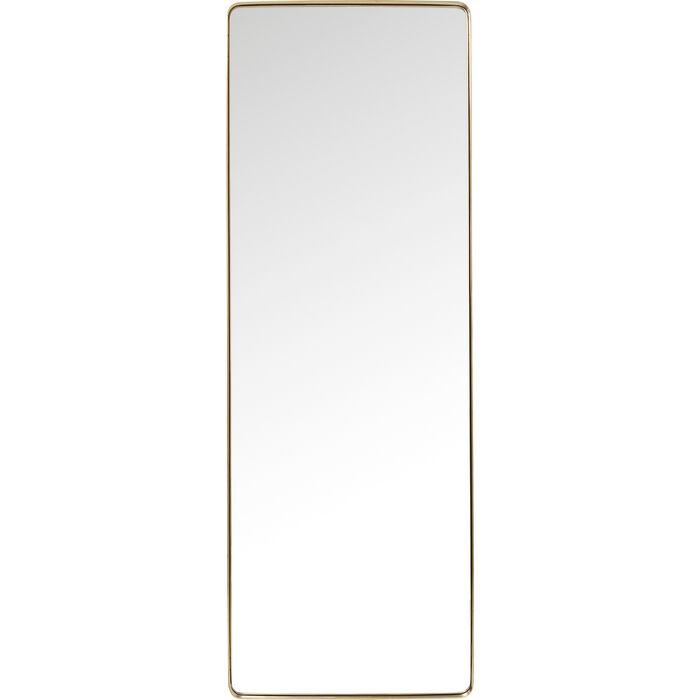 Spiegel Kare Design mirror curve rectangular brass 200x70cm kare design