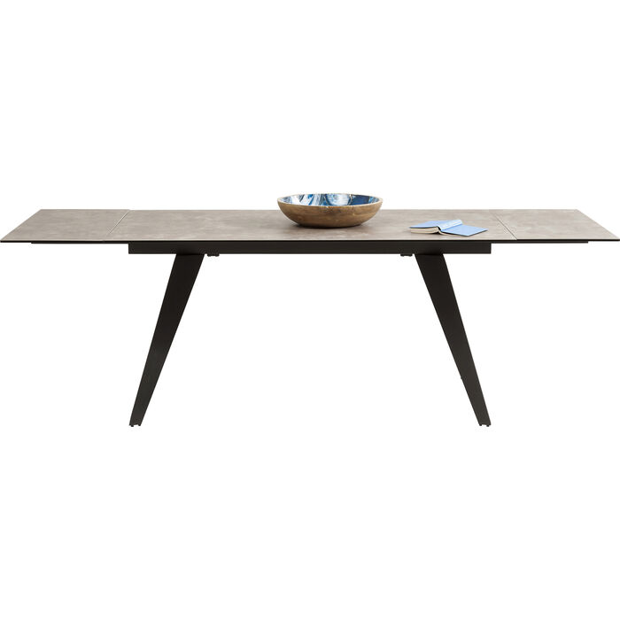 Table A Rallonges Amsterdam Fonce 160 40 40 X90cm Kare Design