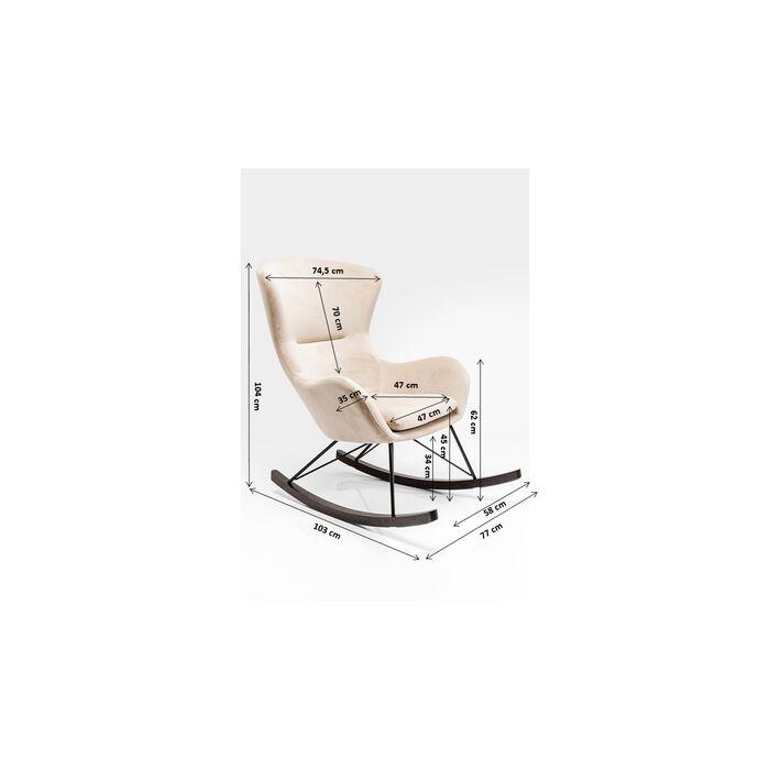 fauteuil bascule oslo kare design. Black Bedroom Furniture Sets. Home Design Ideas