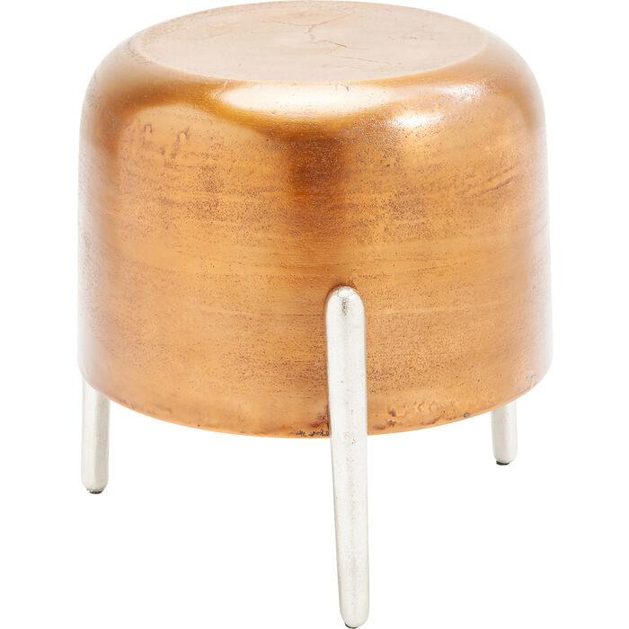 tabouret lumpy cuivre kare design. Black Bedroom Furniture Sets. Home Design Ideas