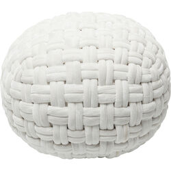 Pouf Ovillo White