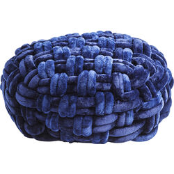 Pouf Ovillo Blue