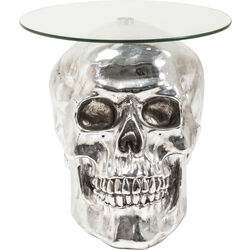 Side Table Big Skull Visible Ø57cm