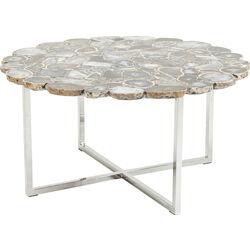 Konferenèní stolek Tesoro modrý - 80 cm
