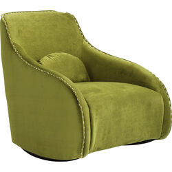 Armchair Swing Ritmo Velvet Green