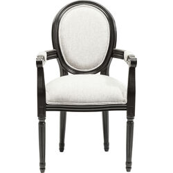 Chair with Armrest Gastro Louis Black Urban