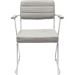 Chair with Armrest Dottore Grey