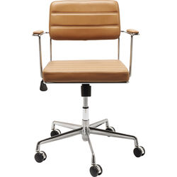 Office Chair Dottore Light Brown