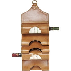 Bottle Rack Saddle Light Brown