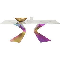 Table Gloria Rainbow 200x100cm