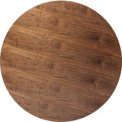 Table Top Invitation Round Walnut Ø120cm