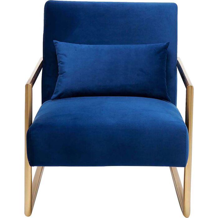 sessel living vegas blau kare design. Black Bedroom Furniture Sets. Home Design Ideas
