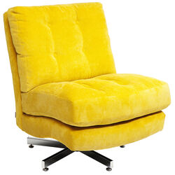 Swivel Chair Cinema Yellow