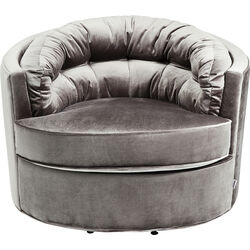 Swivel Armchair Music Hall Grey