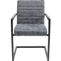 Cantilever Chair  Barone Grey