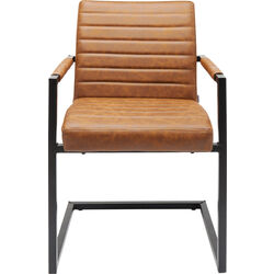 Cantilever Chair  Barone Brown