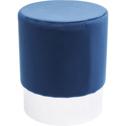 Stool Cherry Blue Silver Ø35cm