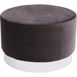 Stool Cherry Dark Grey Silver Ø55cm