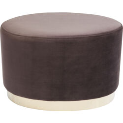 Hocker Cherry Eclipse Braun Brass