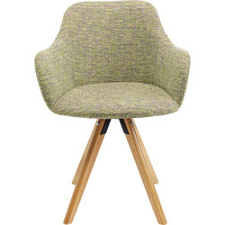 Swivel Armchair Lady Green