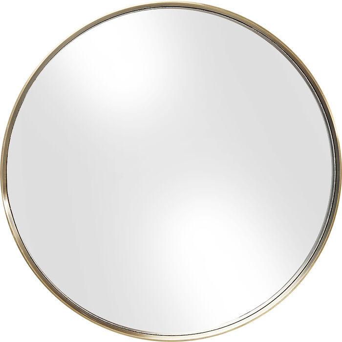 miroir curve rond laiton 60cm kare design. Black Bedroom Furniture Sets. Home Design Ideas