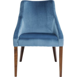 Chair Mode Velvet Bluegreen