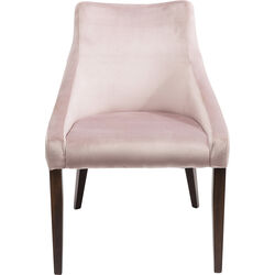 Chair Mode Velvet Mauve
