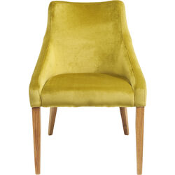 Chair Mode Velvet Green