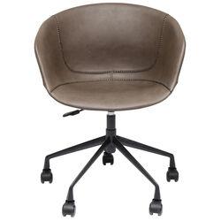 Sedia ufficio girevole Lounge grigio