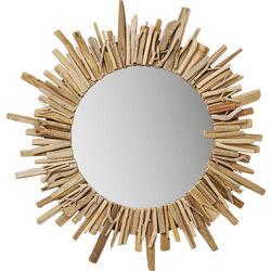 Specchio Legno Ø82cm