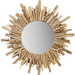 Mirror Legno Ø58cm