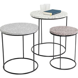 Side Table Terrazzo Round (3/Set)