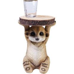 Mesa auxiliar Animal Mini Mongoose 25x23cm