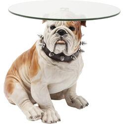 Side Table Visible Watching Bulldog 64,5x54,5cm