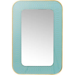 Mirror Revival Light Blue 90x60cm