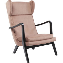 Relax Chair Silence Velvet Rose