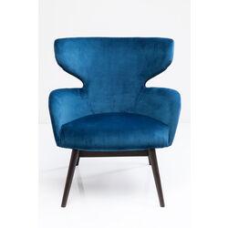 Armchair Aroha Velvet Bluegreen