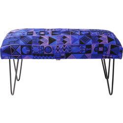 Bench Izzy Gaga Blue 80cm