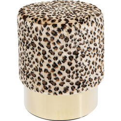 Stool Cherry Leo Brass Ø35cm
