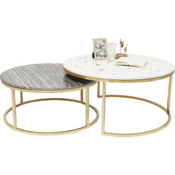 Side Table Mystic Round (2/Set) Ø90cm