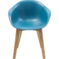 Chair with Armrest Forum Scandi Object Blue