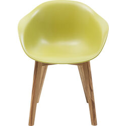 Chair with Armrest Forum Scandi Object Green