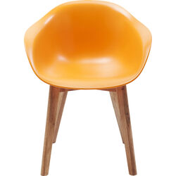 Chair w. Armrest Forum Scandi Object Orange
