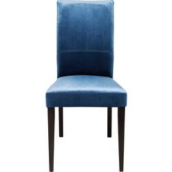 Chair Black Mara Velvet Royal