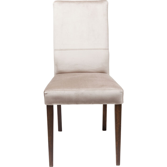 Silbergrau Stuhl Velvet Kare Design Mara Okw0nP