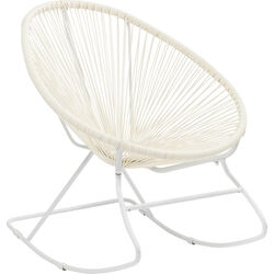Rocking Chair Spaghetti White