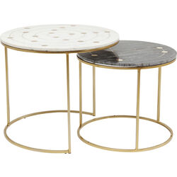 Side Table Mystic Round Small (2/Set) Ø61cm